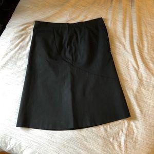 Black Moschino skirt